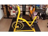 Spin bike fir sale. Like new