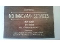 Handyman, Flat pack Assembly, Oddjobs, Laminate Flooring, Door Hanging, Joinery, Lawn maintence, etc