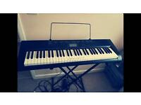Keyboard Casio ctk1150 with stand