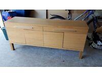 oak sideboard cupboard