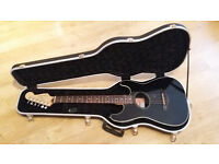 FENDER STANDARD STRATACOUSTIC, WITH HARD CASE