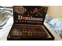 Choco M&M's Dominoes Collector's Edition 1-4 Players Ages 12+