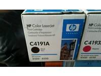 X3 Hp colourjet printer cartridge