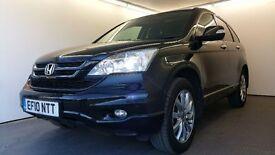 2010 | Honda CR-V 2.0 I-VTEC | 3 MONTHS WARRANTY | FULLY LOADED | JUST SERVICED | SAT NAV |REV CAM
