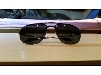 Sunglasses. New Kaenon Spindle Polarized, Black Chrome SR-91 with Grey 12 Lenses. Unworn. Brand New!