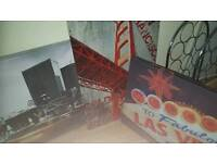 Canvasses and football albums FREE