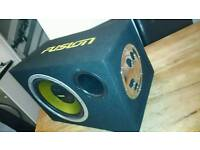 Fusion base box speaker