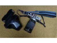 Olympus OM2 with 28x200 Vivitar Zoom macro lens