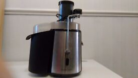 Andrew James centrifugal juicer, used, full working order