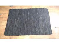 Leather Rug 1.25x1.85m