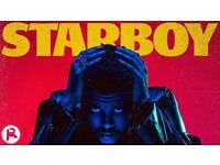 The Weeknd O2 London Tuesday 7th March 2016 - GREAT SEATS *3 x seated tickets ROW A BLOCK 420*