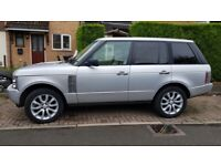 """4x 20"""" Range Rover alloy wheels (5x120) & tyres - Land Rover Discovery, VW Transporter"""