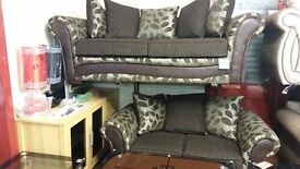 BOXER BRAND NEW 3 SEATER £339 GET 2 SEATER FREE HAND MADE WITH FOAM SEATING AND SPRING BASE