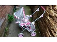 Toy pram/ pushchair