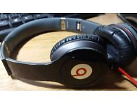 Beats by Dr. Dre Solo HD On-Ear Headphones - Black Used good condition. With Case.