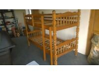 Sturdy Antique Pine Bunk beds (used)