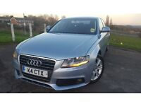 Audi A4 Diesel FSH MOT ONLY 2 OWNERS ALLOYS NEW EGR VALVE PADS TYRES MET BLUE ONLY 500 MADE