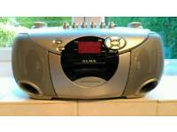 Alba stereo CD ~radio ~cassette player