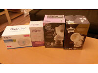 2 breast pumps for sale (plus breast pads for free)