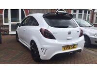 Vauxhall Corsa D Design 1.7 CDTI VXR Replica HPI Clear White (Not astra vxr, sri, sxi, life)
