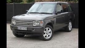 Range Rover Vogue 4.4 WORK AND MAJOR SERVICE CARRIED OUT