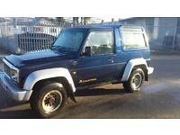 Daihatsu Fourtrak 2.8 £1200 ono