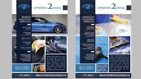 Car Valeting, Power washing, Carpets & upholstery