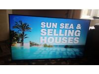 SONY BRAVIA 49 LED TV SMART/4k UHD/ANDROID/1000HZ/WIFI/QUAD CORE/MEDIA PLAYER/ AS NEW NO OFFERS