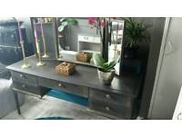 STAG DRESSING TABLE WITH 3 MIRRORS