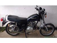 Suzuki GN125 perfect commuter or first bike