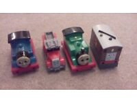 4 x THOMAS AND FRIENDS TALKING AND SOUND TRAINS