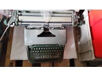 Vintage Olympia typewriter - Props and Display