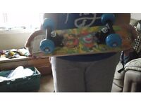 Moshi monster mini skateboard
