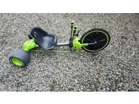 Green huffy machine
