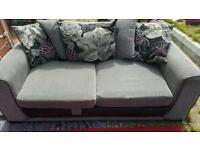 Grey 3 seater sofa