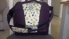 Munchkin travel booster seat and storage, baby / feeding / weaning / restaurant / nappy bag