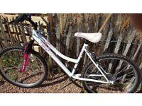 Ladies mountain bike 6 speed gears
