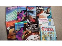 Guitar song books and music books / tuition books - bundle
