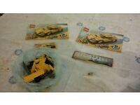 3 Vehicle Lego Sets