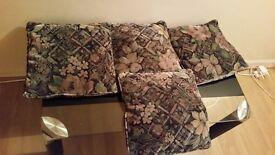 4 cushions. Excellent condition. Only £5