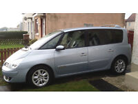 2007 renault espace 2.0ltr dti,7seater part leather,lovely interior and mot till december 2017,£2500