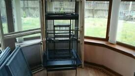 Parrot/parakeet cage
