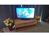 DOWNSIZING FURNITURE, TV and Cabinet, Sofa and armchair, Dining set 4 chairs, teak coffee table