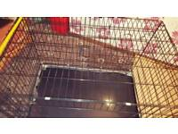 Dog/Animal Double Extra Large cage with handmade cover - Check out my other cat items