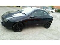 Ford Puma 1.6 3dr. MOT'd. Black Alloys, Bargain!! £299