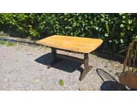 Ercol Dining Table Refectory / Kitchen Table