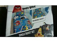 Angry Bird Duvet Set