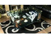 Fish tank table