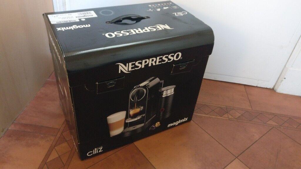 Nespresso Magimix Citiz & Milk Coffee Machine - Brand New in Box ...