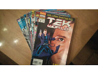 Marvel Comics, William Shatner's Tek World 1994 Collection. Issues 9, 17 and 23 missing.